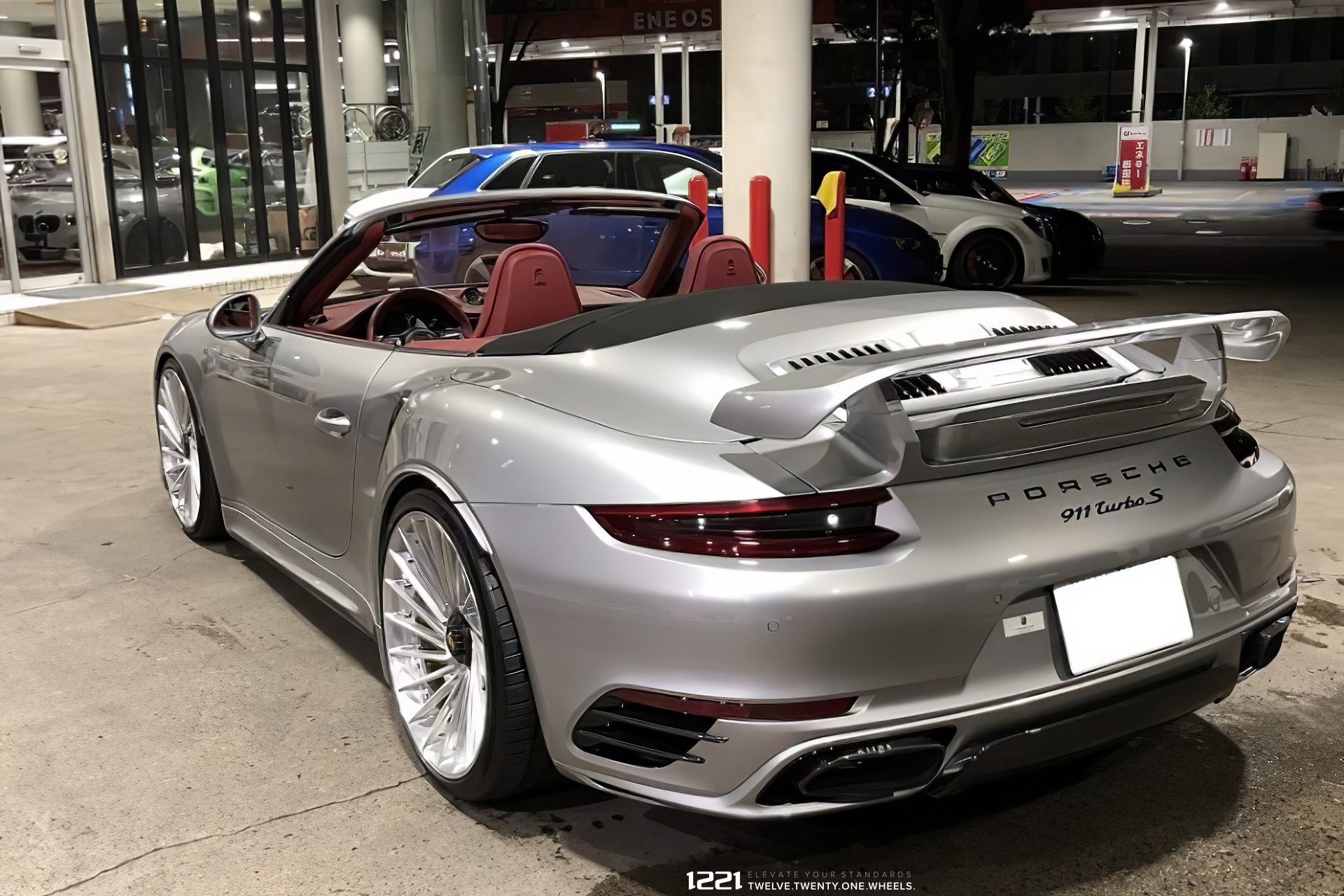 Porsche 991 Turbo S Forged Rotational Concave Wheels