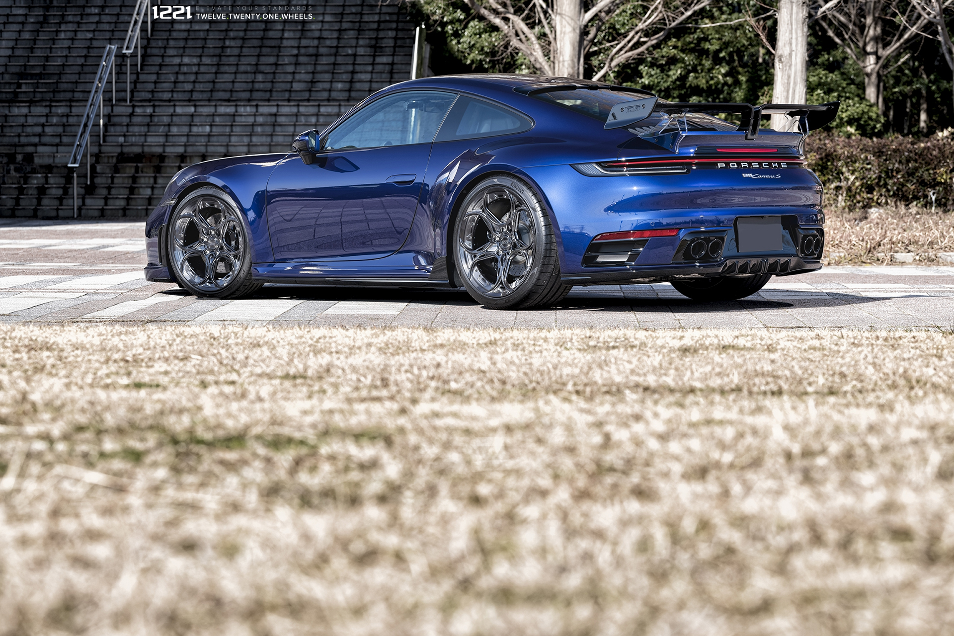 Porsche 992 Carrera S Forged Wheels