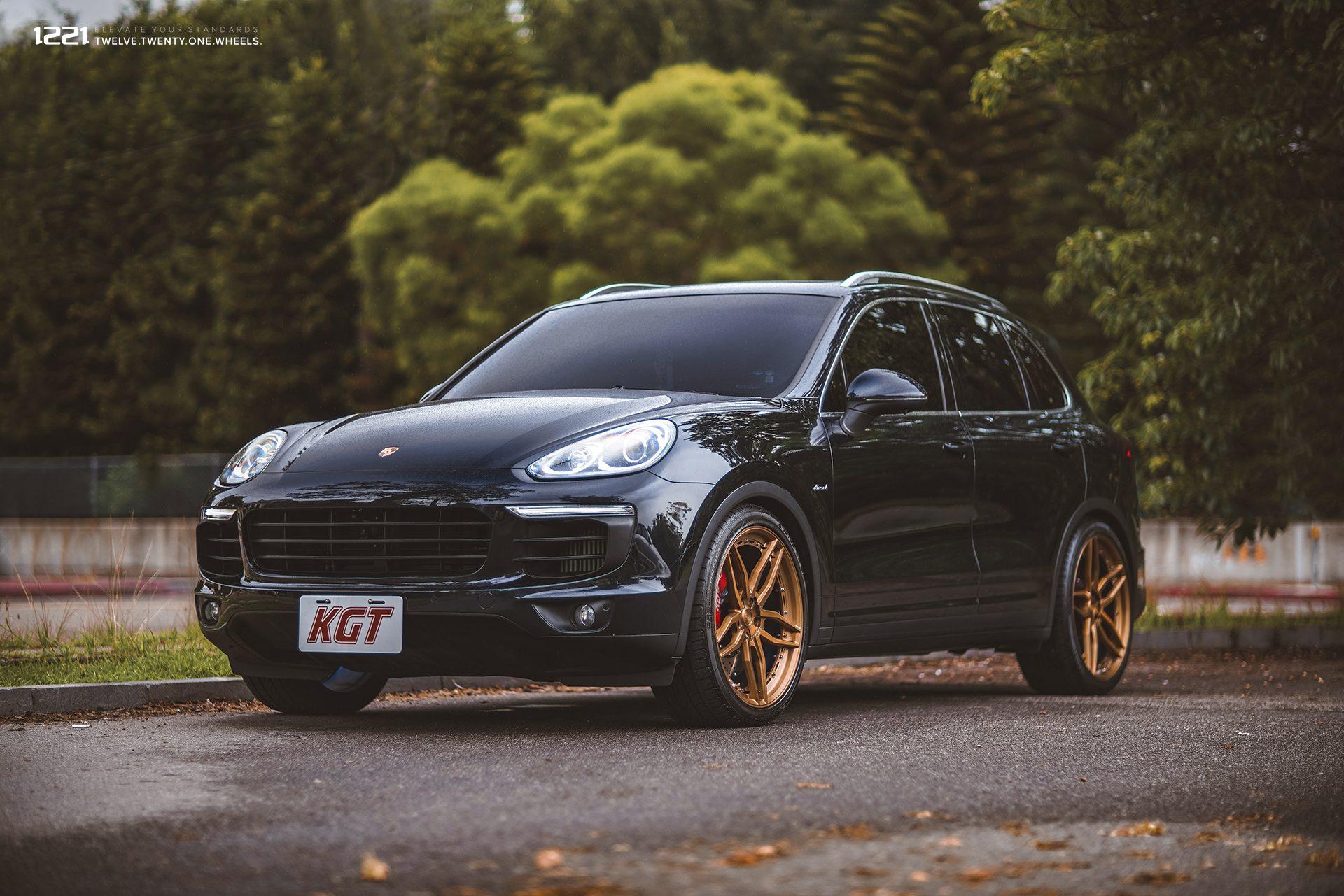 Porsche Cayenne Forged concave wheels