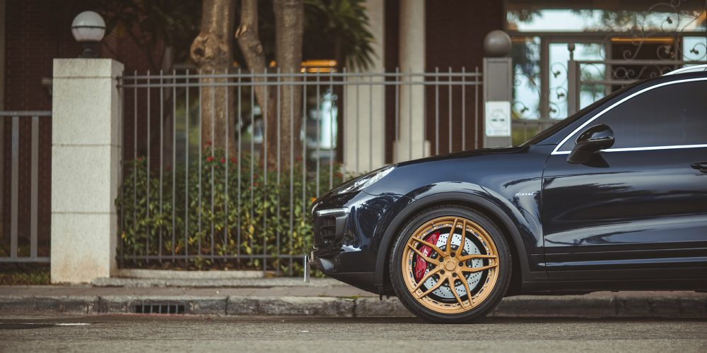 Porsche Cayenne Forged concave wheels