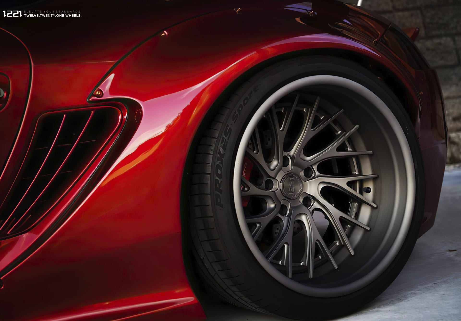 Porsche Cayman Forged Wheels