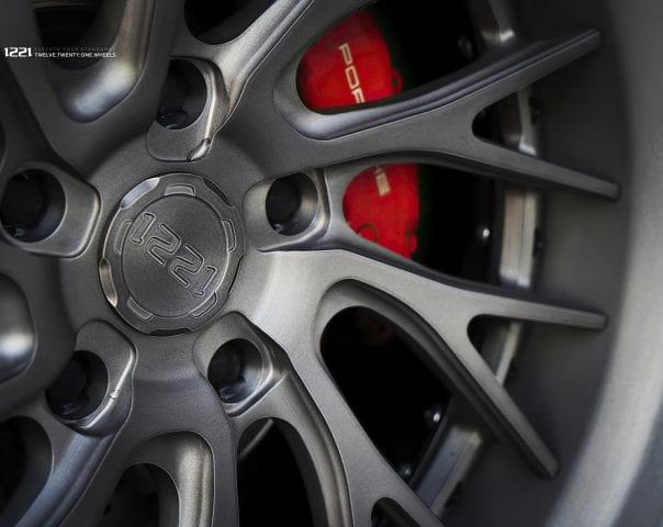 Porsche Cayman Forged Wheels