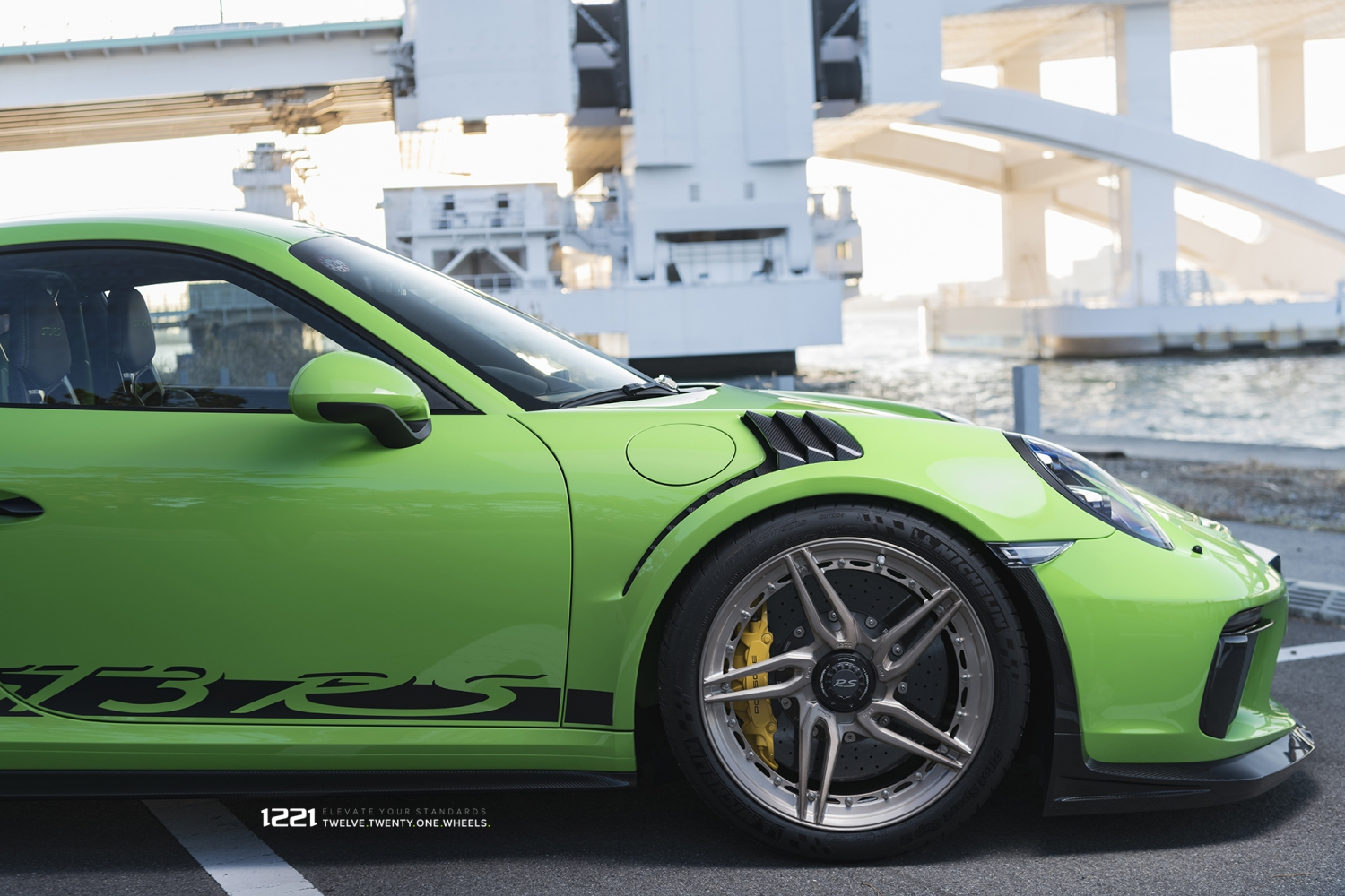 Porsche GT3RS forged concave wheels