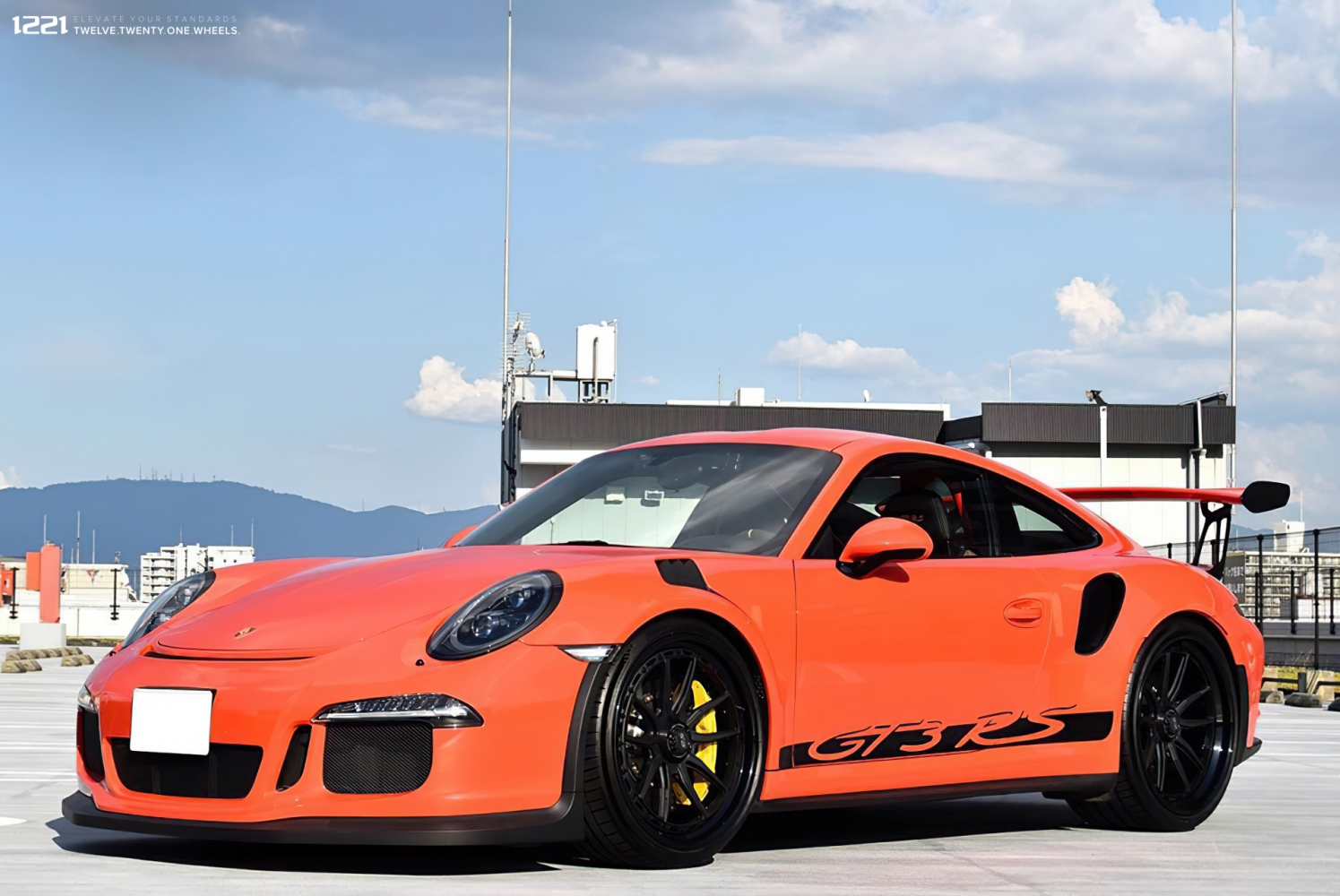 Porsche GT3RS Forged Modular Concave Wheels