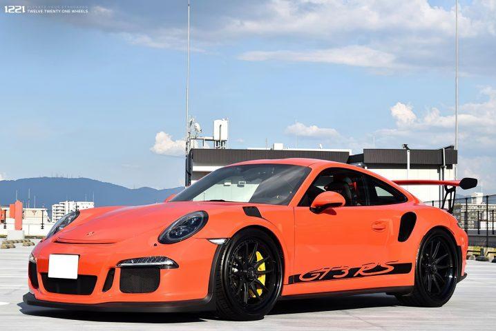 Porsche GT3RS Forged Modular Concave Wheels