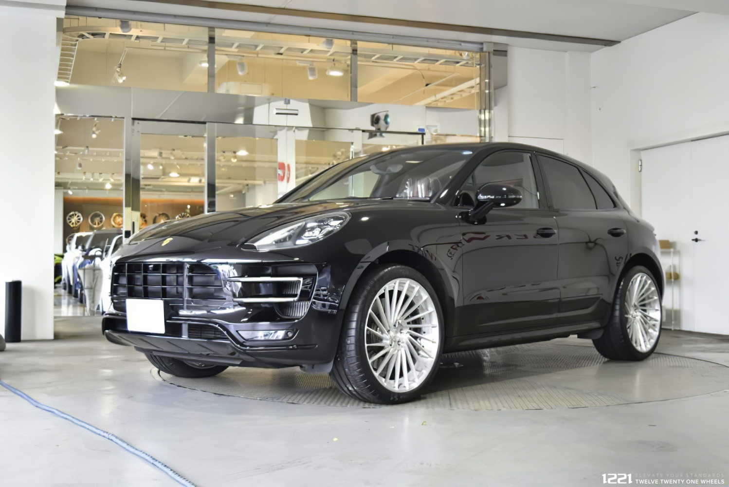 Porsche Macan Turbo Forged Modular Concave Wheels