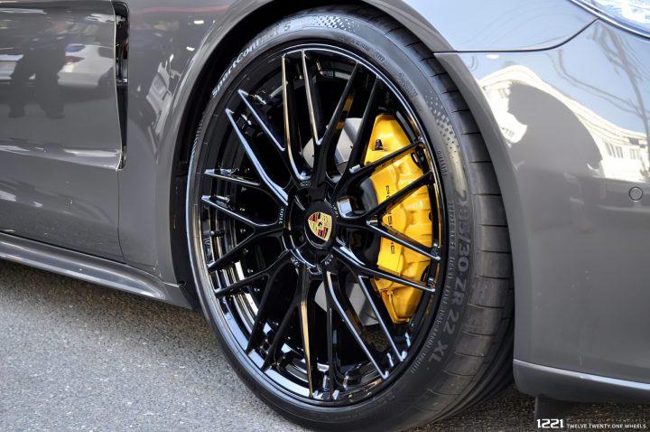 Porsche Panamera 4S Forged Modular Concave Wheels