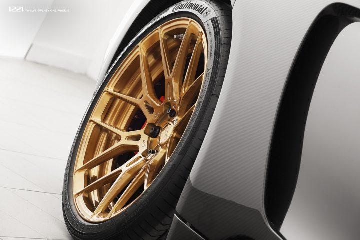 Porsche Panamera Turbo Widebody Forged Wheels