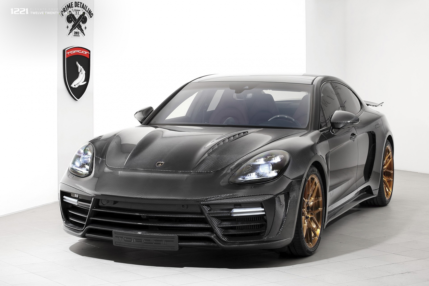 Porsche Panamera Turbo Widebody Forged Wheels