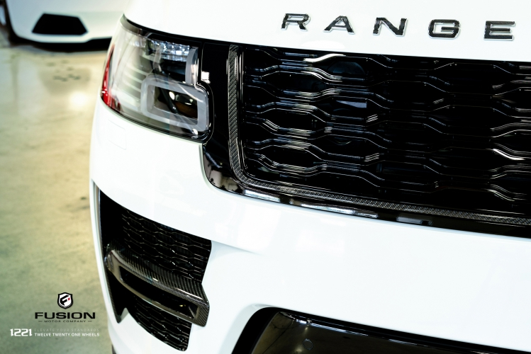 Range Rover Sport Full Size SVR Supercharged