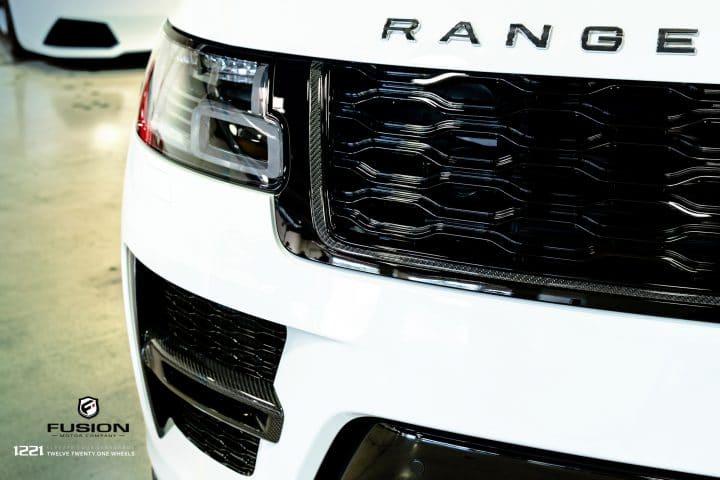 Range Rover Sport Full Size SVR Supercharged