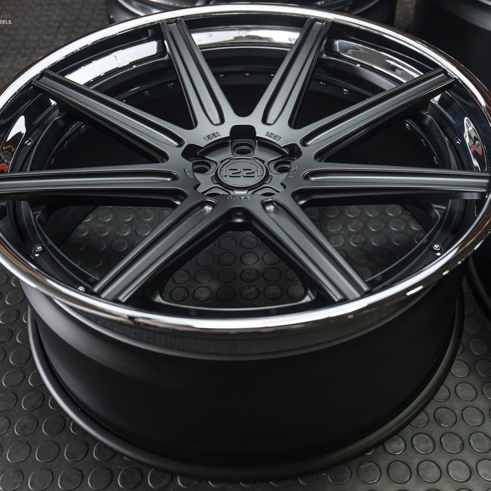 24 inch concave wheel