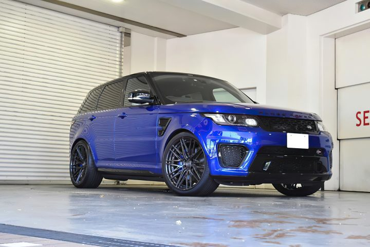 Range Rover Sport SVR Modular Forged Wheels