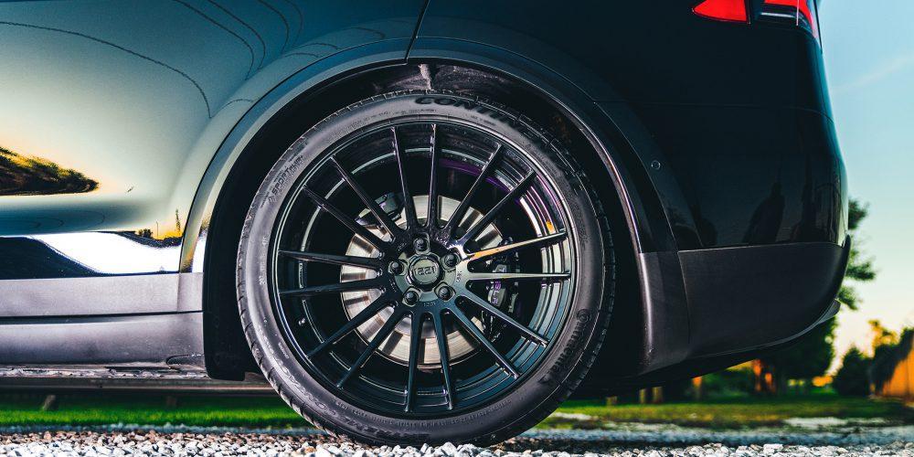 22 Inch Tesla Model X Concave Wheels