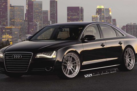 Audi A8 Quattro Custom Wheels
