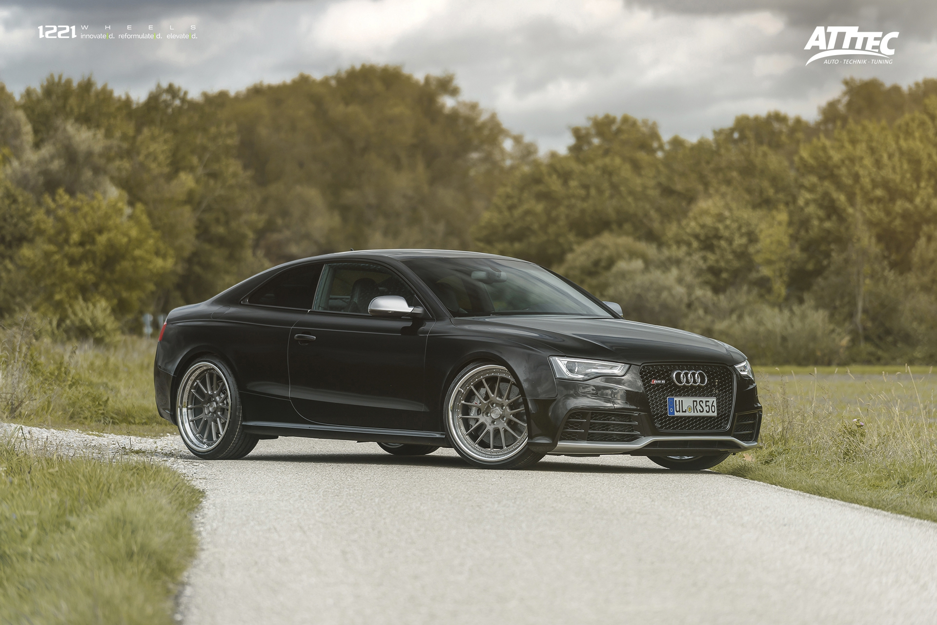 Audi RS5 Coupe S5 A5 forged concave wheels