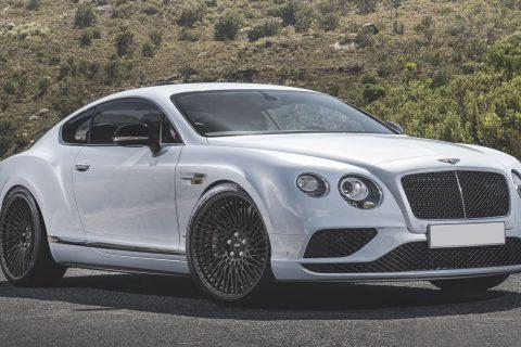 Bentley Continental GT Custom Wheels