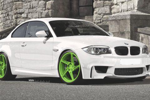 BMW E82 1M Custom Wheels