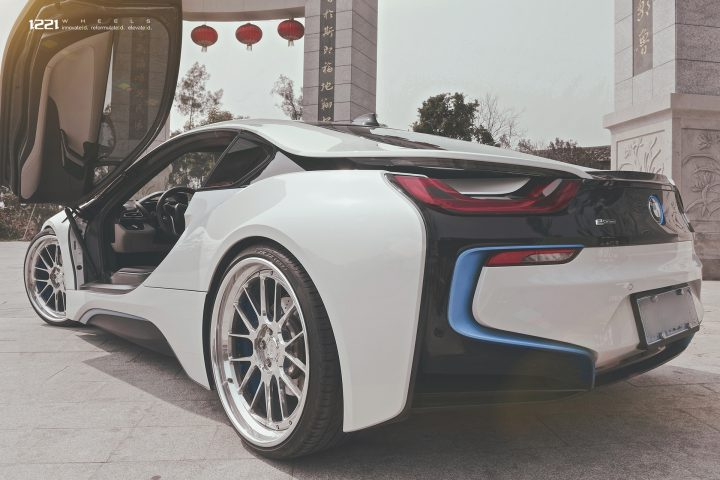 BMW i8 Forged Concave Wheels