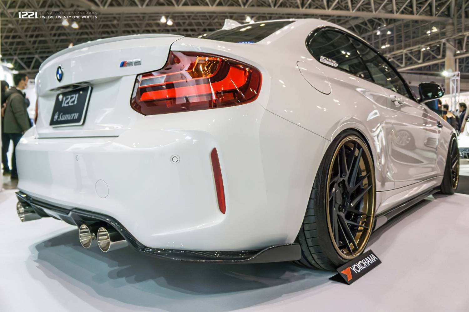 BMW M2 Coupe Sport forged concave wheels
