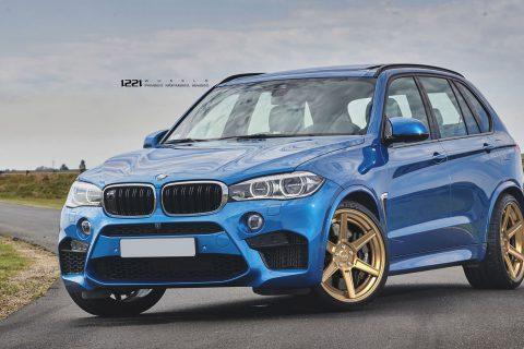 BMW F15 X5M V8 SUV Custom Wheels