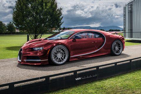 Bugatti Chiron Veyron Custom Wheels