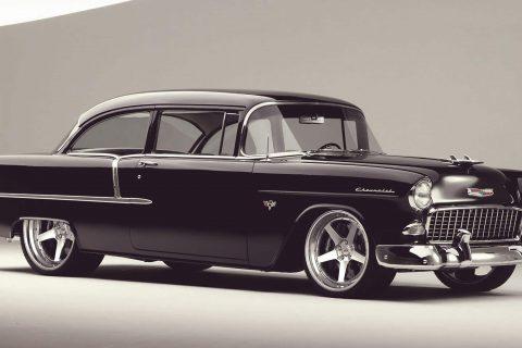 1955 Chevrolet Bel Air Custom Wheels