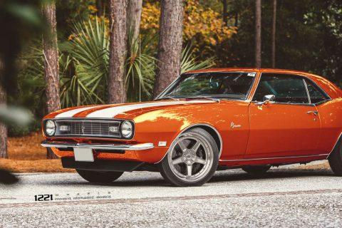 1969 Chevrolet Camaro Z28 Custom Wheels