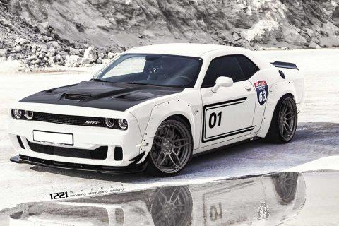 Dodge Challenger Hellcat Demon Custom Wheels