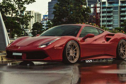 Ferrari 488 Coupe Custom Wheels