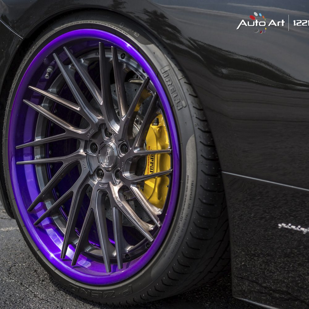 Ferrari 458 Italia coupe spyder forged concave wheels