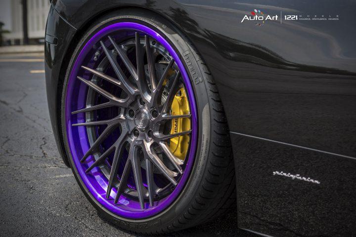 Ferrari 458 Italia coupe spyder forged concave wheels