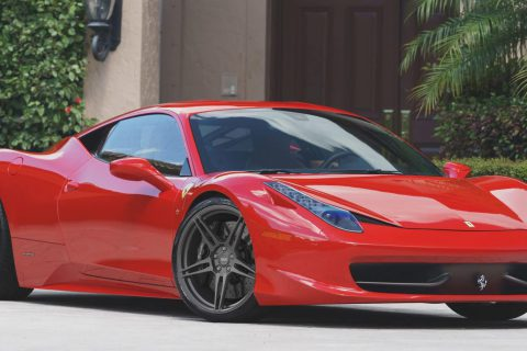 Ferrari 458 Italia Custom Wheels