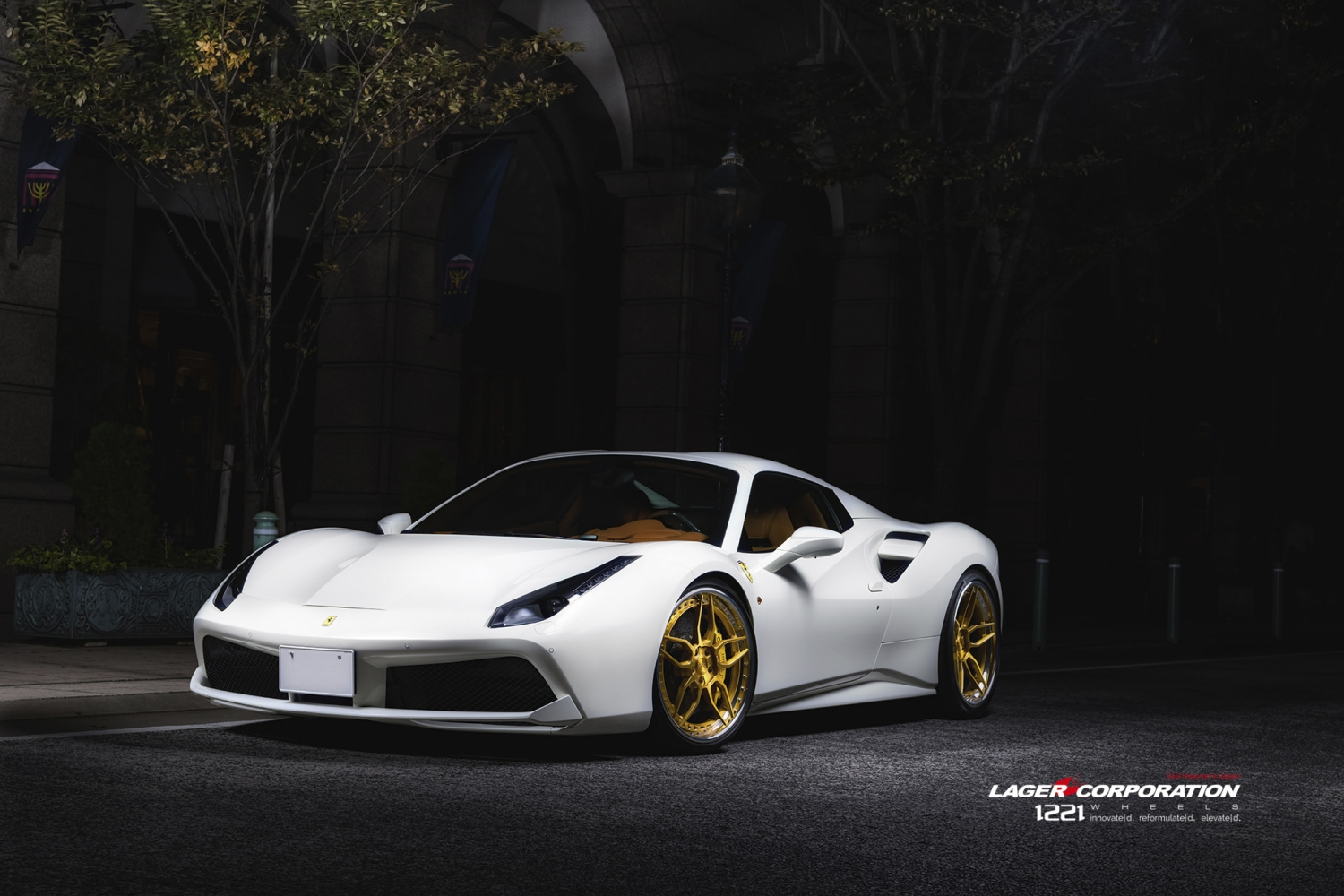 Ferrari 488 gtb spyder coupe forged concave wheels