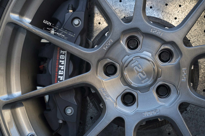 Ferrari 488 gtb spyder coupe forged concave wheels