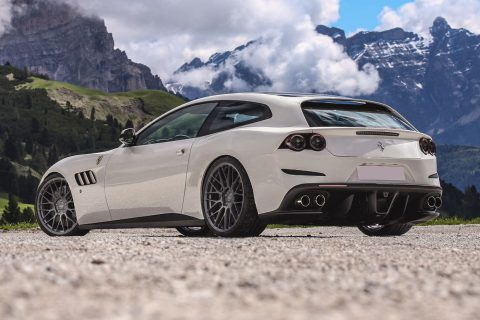 Ferrari GTC4 Lusso Custom Wheels