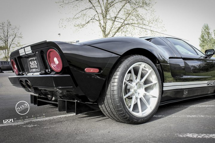 Ford GT Forged Monoblock Wheels
