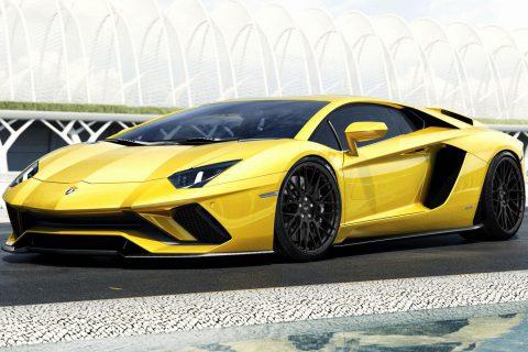 Lamborghini Aventador S LP740-4 Custom Wheels