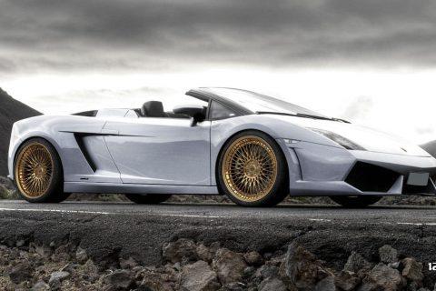 Lamborghini Gallardo Superleggera LP570 Custom Wheels