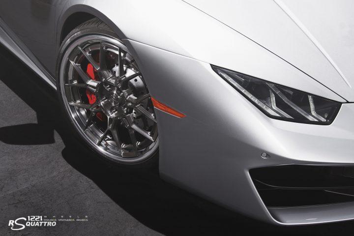 Lamborghini Huracan LP610 forged concave wheels