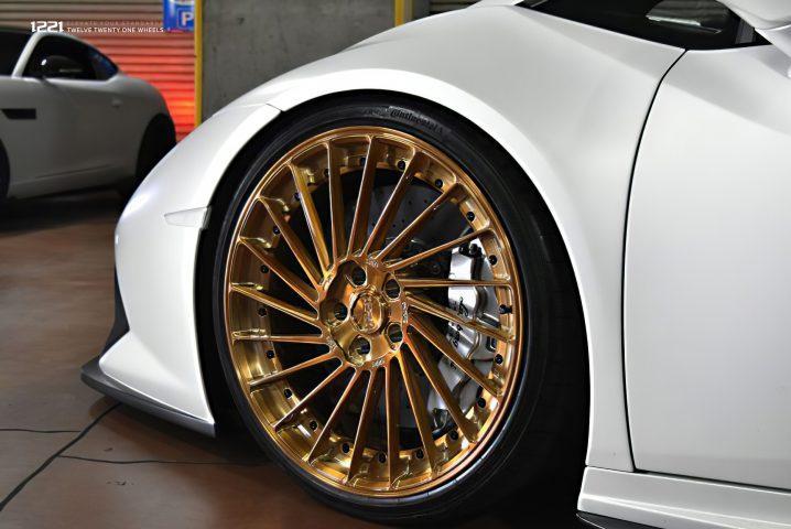 Lamborghini Huracan Super Hyper Car Forged Concave Wheels