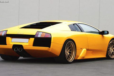 Lamborghini Murcielago LP640 Custom Wheels