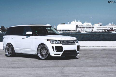 Land Rover Range Rover hse Custom Wheels