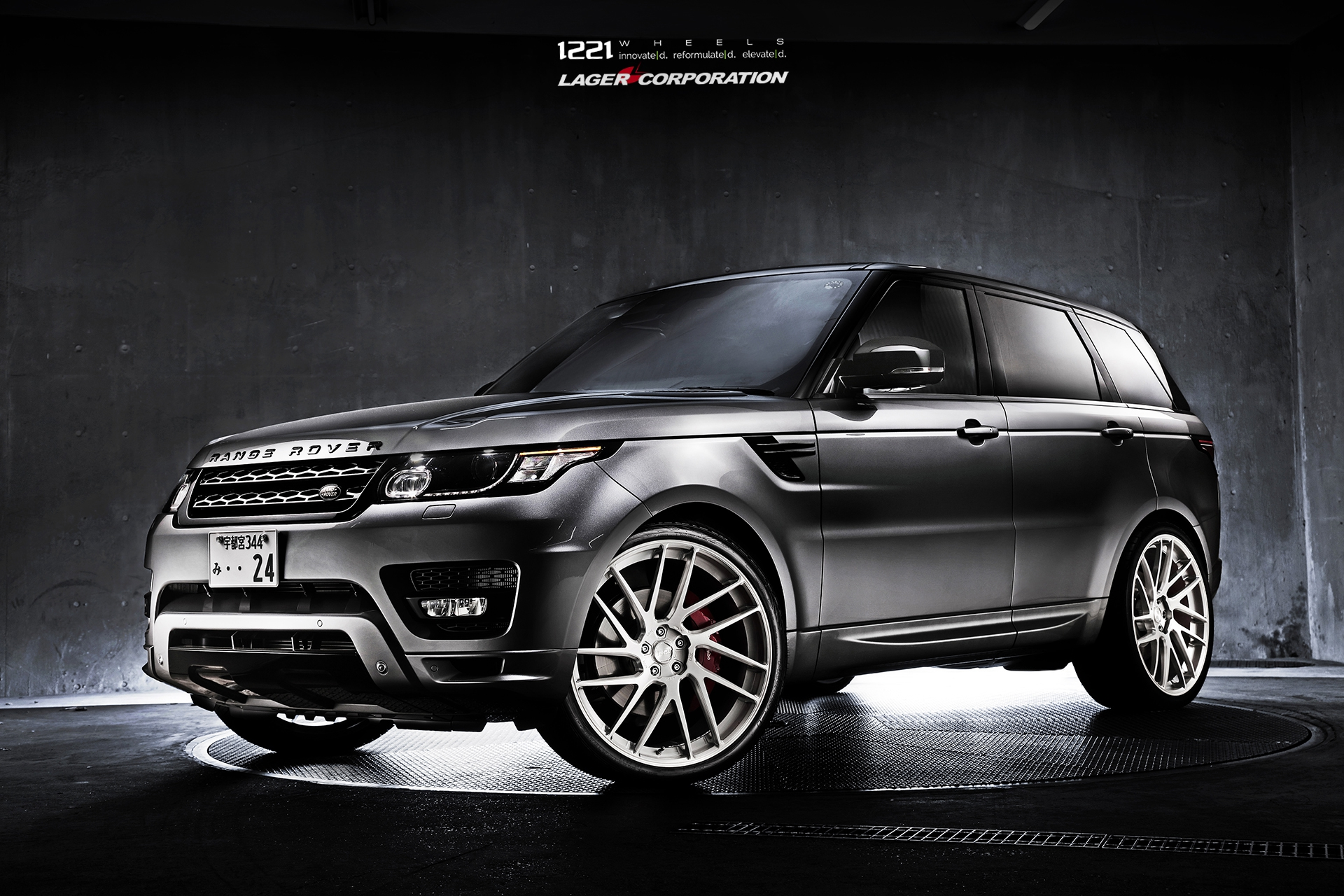 Land Range Rover Sport HSC forged concave wheels