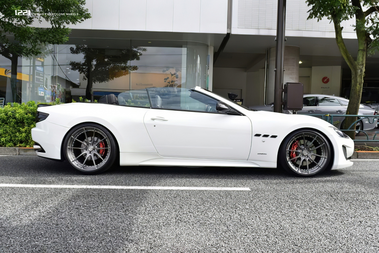 Maserati GT Granturismo Cabriolet Forged Concave Wheels