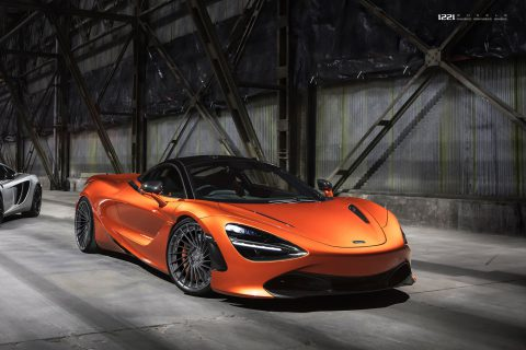 McLaren 720s Supercar Custom Wheels