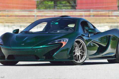 McLaren P1 Supercar Custom Wheels