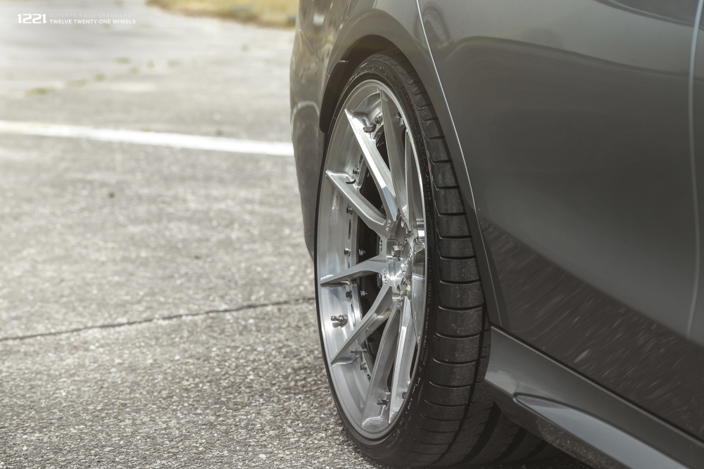 Mercedes Benz C63 S AMG Wagon forged concave wheels