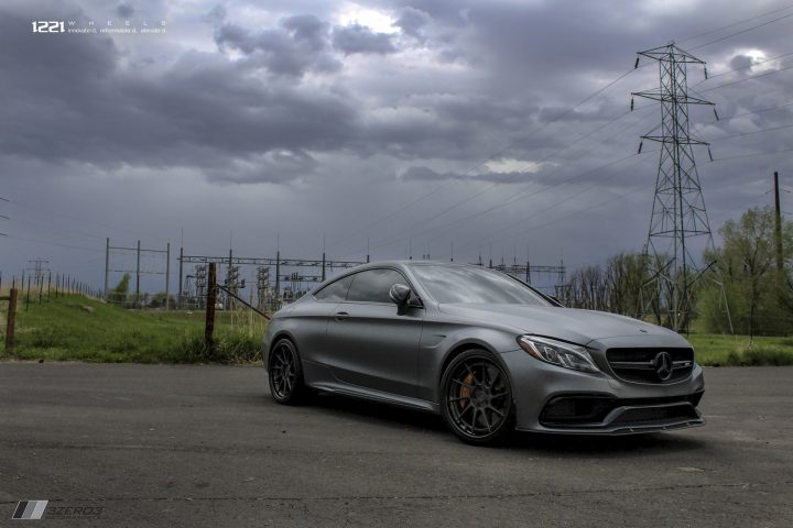 Mercedes Benz C63s Forged Concave Wheels