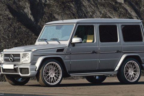 Mercedes-Benz G-Wagon AMG Custom Wheels